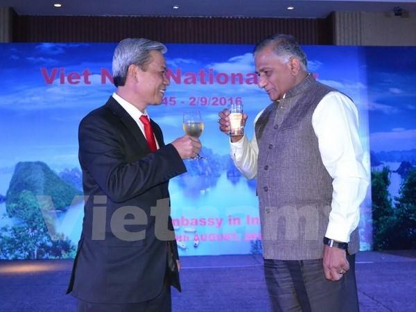 Celebran Dia Nacional de Vietnam en India hinh anh 1