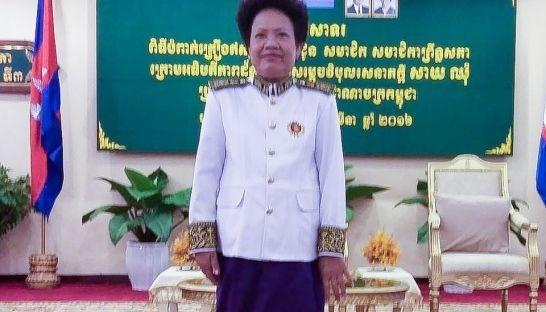 Camboya anula inmunidad de senadora opositora hinh anh 1