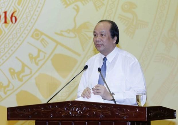 Gobierno de Vietnam promete cerrar espacios para corrupcion hinh anh 1
