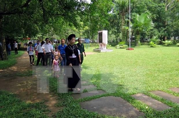 Aumentan visitas turisticas a capital revolucionaria de Vietnam hinh anh 1