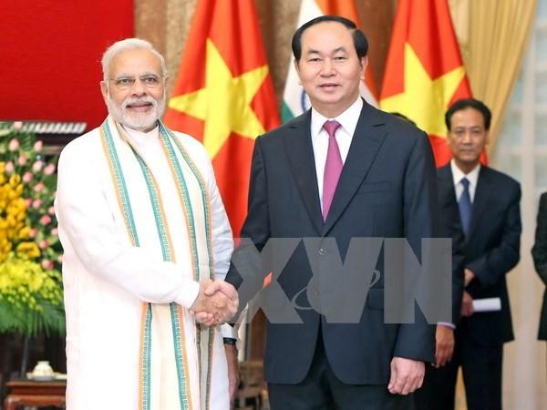 Vietnam e India fomentan asociacion estrategica hinh anh 1