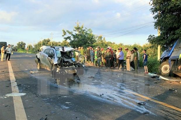 Reducen victimas de accidentes de transito en Vietnam en dias feriados hinh anh 1