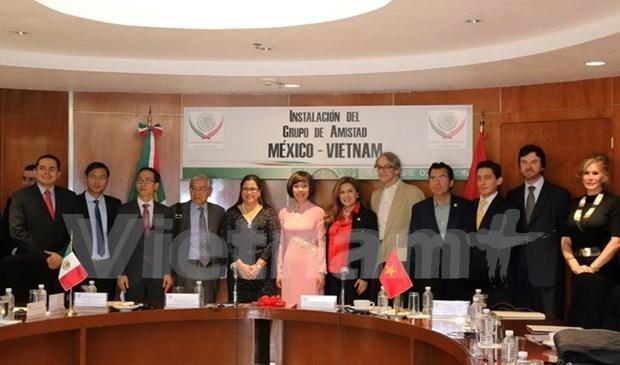 Instalan Grupo de Diputados de Amistad Mexico-Vietnam hinh anh 1