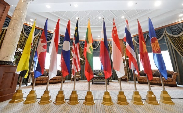 Adelantan agenda de cumbres de ASEAN en Laos hinh anh 1