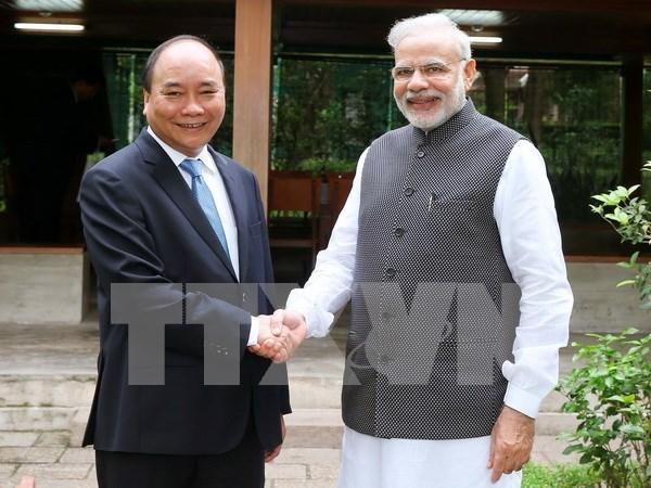 Emiten Vietnam e India declaracion conjunta hinh anh 1