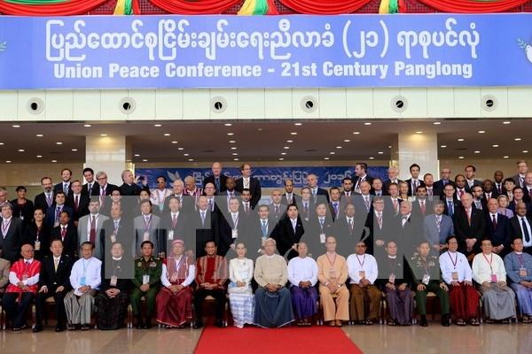 La conferencia de paz nacional se cierra en Myanmar hinh anh 1
