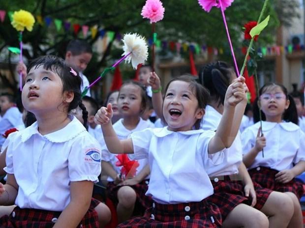 Presidente vietnamita urge al sector educacional a acelerar reformas hinh anh 1
