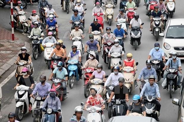 Francia concede 120 mil euros a Hanoi para la gestion de atmosfera hinh anh 1