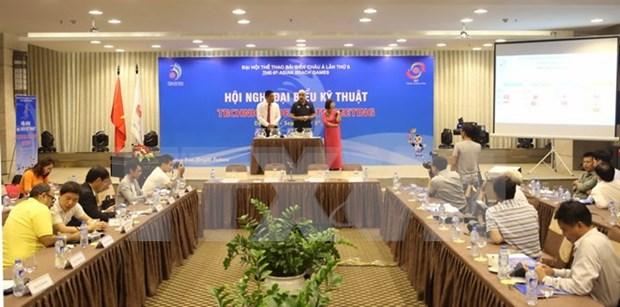 Efectuan en Vietnam sorteo de Juegos Asiaticos de Playa hinh anh 1