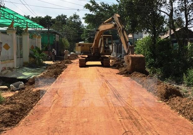 Provincia de Phu Tho enfrenta dificultades en la modernizacion rural hinh anh 1