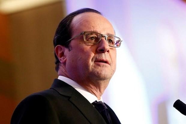 Presidente de Francia continua visita de Estado en Vietnam hinh anh 1