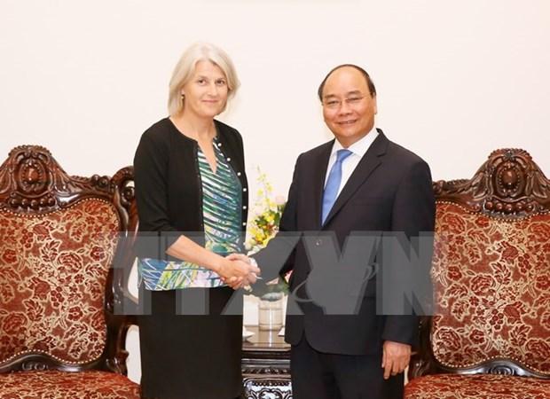 Destacan buena marcha de desarrollo de cooperacion entre Vietnam y Dinamarca hinh anh 1