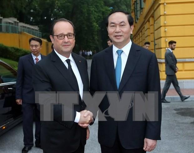 Vietnam y Francia, hacia una vision a largo plazo para la cooperacion bilateral hinh anh 1