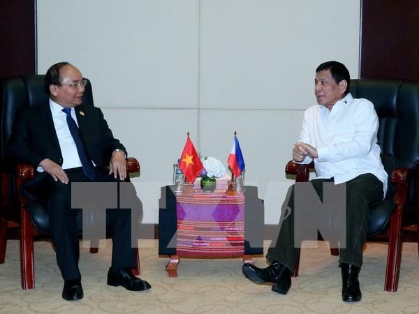 Vietnam y Filipinas conceden alta importancia a asociacion estrategica bilateral hinh anh 1
