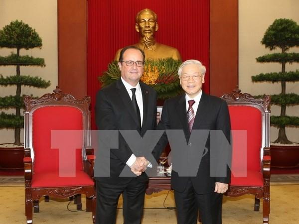 Vietnam y Francia se esfuerzan por profundizar asociacion estrategica bilateral hinh anh 1