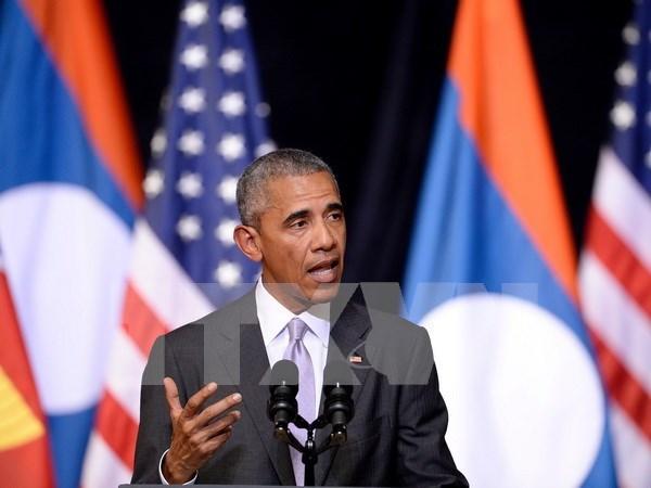 Barack Obama exhorta acelerar la aplicacion del TPP hinh anh 1