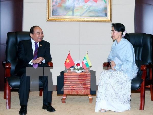 Dispuestos Vietnam y Myanmar a estrechar vinculos tradicionales hinh anh 1