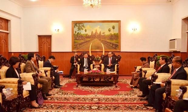 Fomentan Vietnam y Camboya lazos partidistas hinh anh 1