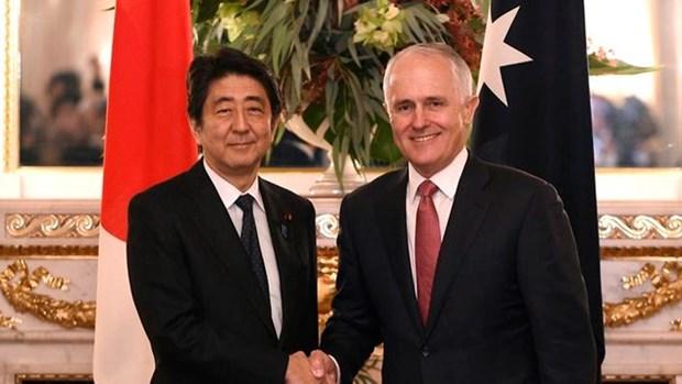 Japon y Australia apoyan solucion pacifica para disputas en el Mar del Este hinh anh 1