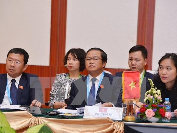 Lideres de AIPA apoyan el desarrollo de comunidad de ASEAN hinh anh 1