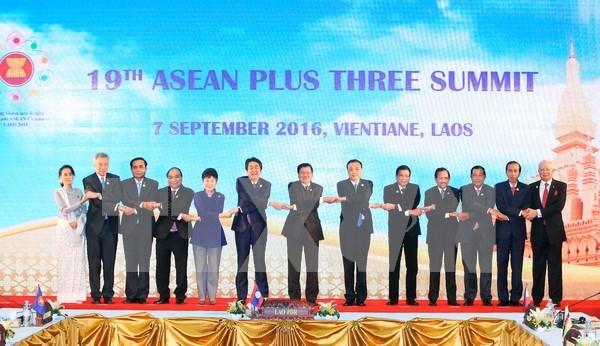 ASEAN+3 promete impulsar la cooperacion para el desarrollo sostenible hinh anh 1