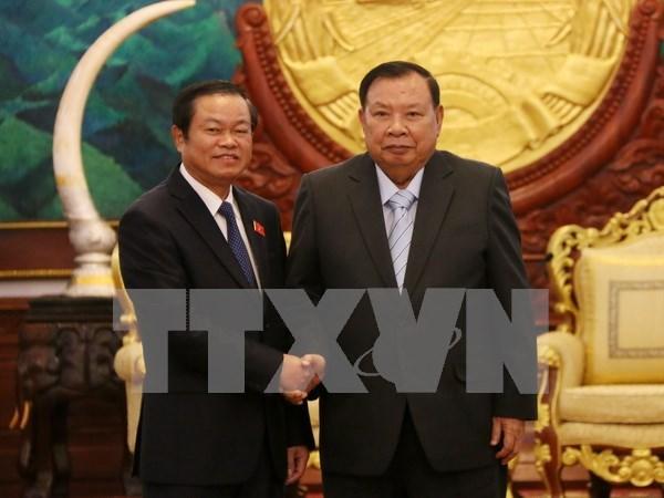 Impulsan Vietnam y Laos lazos entre sus organos legislativos hinh anh 1