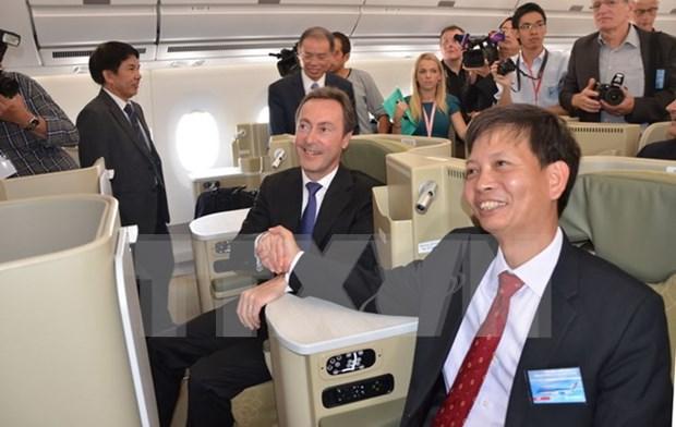 Fabrice Bregier: Vietnam es socio importante de Airbus hinh anh 1