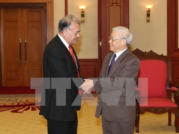 Partido Comunista de Vietnam y Partido de Trabajo de Mexico robustecen lazos hinh anh 1
