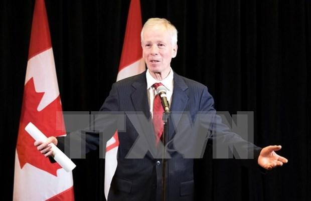 Canciller canadiense visita Ciudad Ho Chi Minh hinh anh 1