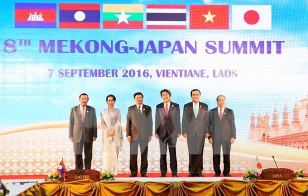 Primer ministro vietnamita participa en la Cumbre Mekong- Japon hinh anh 1