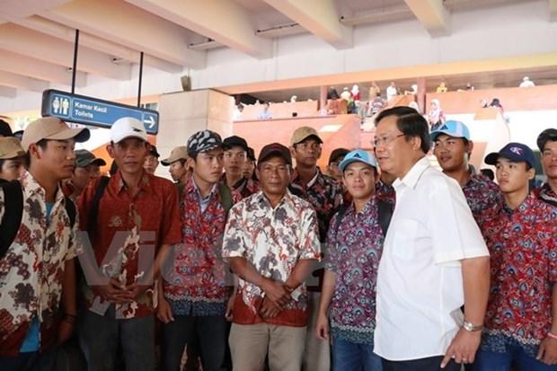 Indonesia y Vietnam discuten la repatriacion de pescadores hinh anh 1