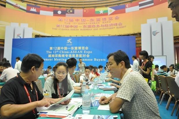 Mayor participacion de empresas de Vietnam en Exposicion China-ASEAN hinh anh 1