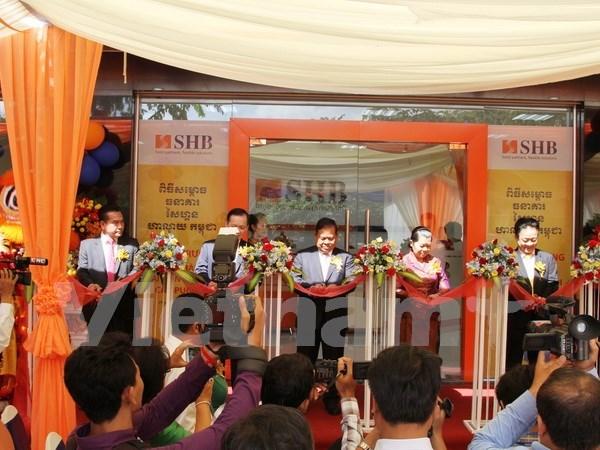 Banco vietnamita SHB inaugura su filial en Camboya hinh anh 1
