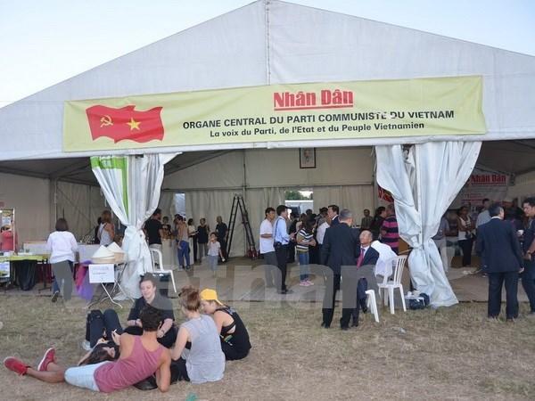 Vietnam en Fiesta periodistica en Francia hinh anh 1