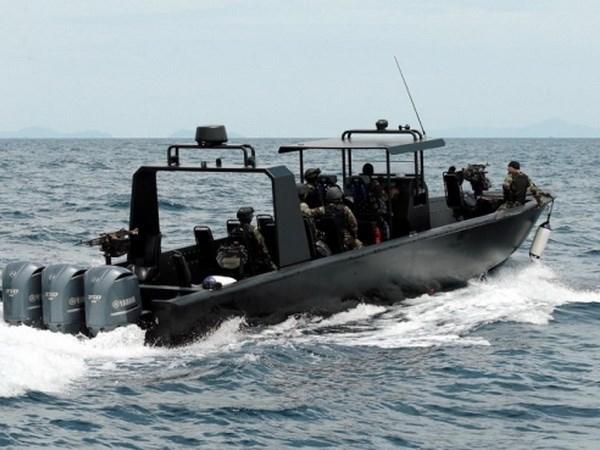 Malasia incrementa medidas de seguridad en el mar hinh anh 1