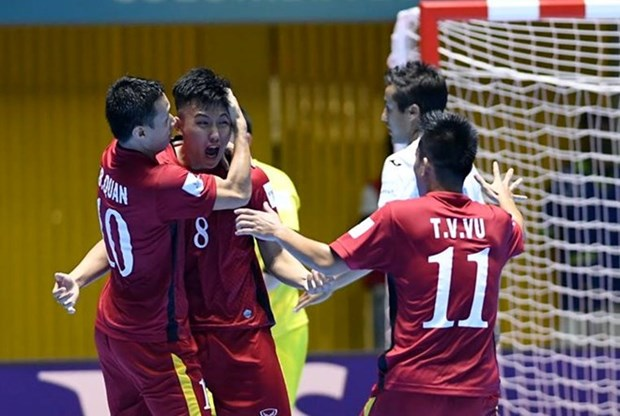 Vietnam gana 4-2 a Guatemala en la Copa Mundial de futbol sala hinh anh 1