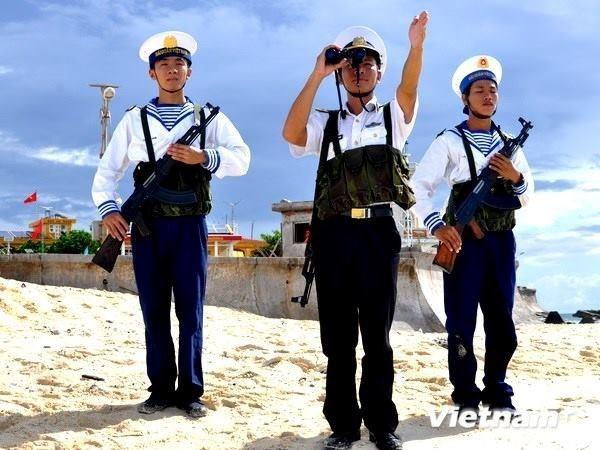 Gala artistica recauda fondos para pobladores y soldados en territorios insulares hinh anh 1