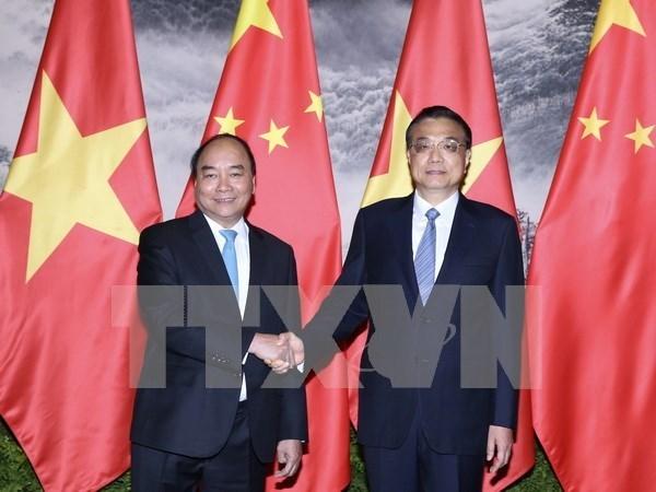 Vietnam y China profundizan asociacion de cooperacion estrategica integral hinh anh 1