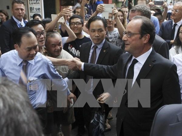Periodico frances destaca dinamismo de Vietnam hinh anh 1