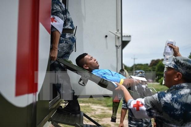 ASEAN y contrapartes realizan ejercicio conjunto en ayuda humanitaria hinh anh 1