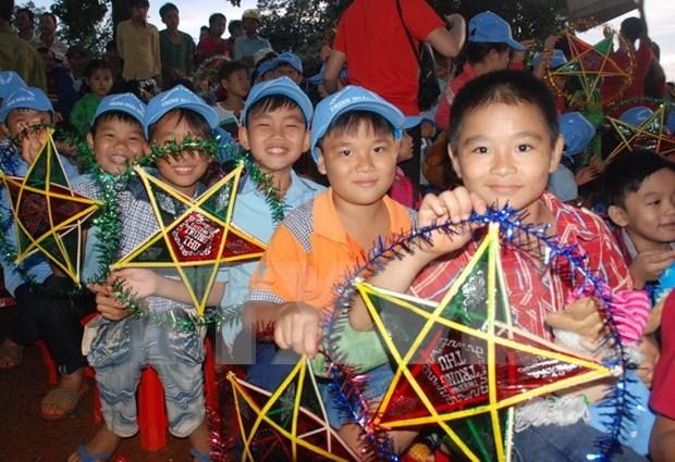 Vicepresidenta de Vietnam pide mayor atencion a ninos hinh anh 1