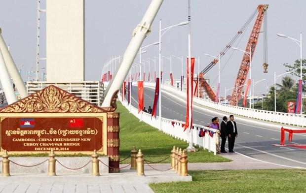 Camboya y China por alcanzar cinco mil millones de dolares en intercambios comercial hinh anh 1