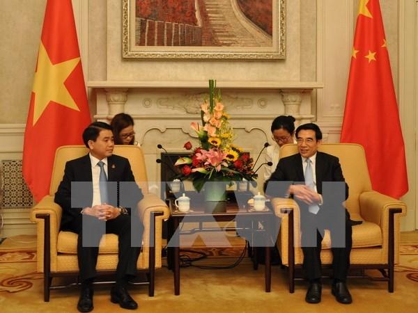 Hanoi y Beijing promueven cooperacion y amistad tradicional hinh anh 1