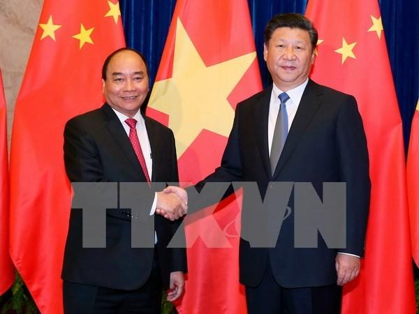 Vietnam y China emiten comunicado conjunto hinh anh 1