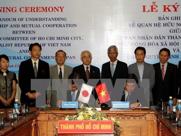 Acuerdan localidades vietnamitas y japonesas aumentar cooperacion bilateral hinh anh 1