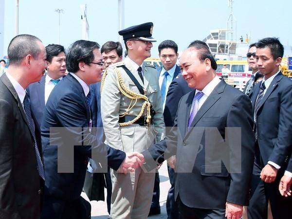 Primer ministro de Vietnam visita Hong Kong hinh anh 1