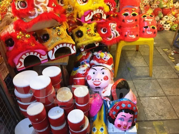 Amplias actividades en Hanoi para ninos en ocasion de la Fiesta de Medio Otono hinh anh 1