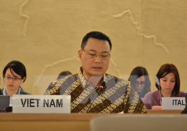 Vietnam afirma que considera importante la educacion sobre derechos humanos hinh anh 1