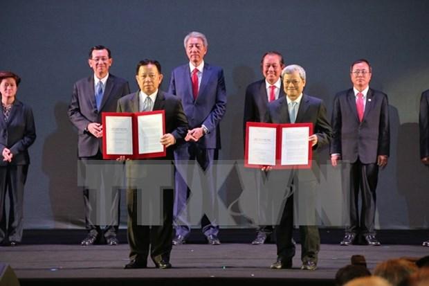 Conmemoran 20 anos de parque industrial Vietnam – Singapur hinh anh 1