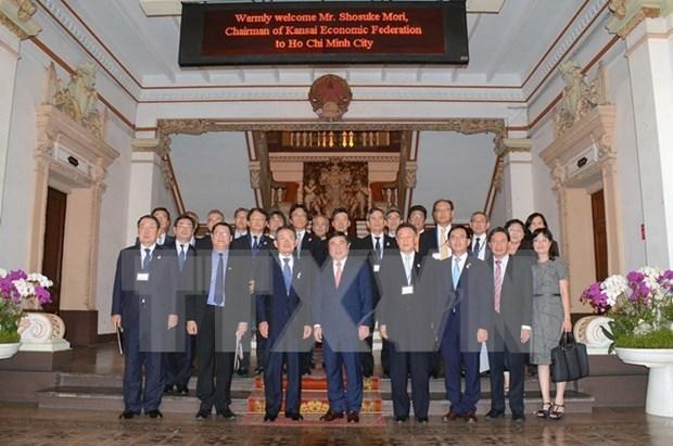 Ciudad Ho Chi Minh favorece inversiones de empresas japonesas hinh anh 1